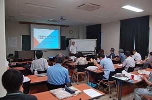 竹林景観ネットワーク第14回研究集会・研究発表会の様子。